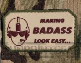 Gun Point Gear Making Badass Look Easy PVC Patch